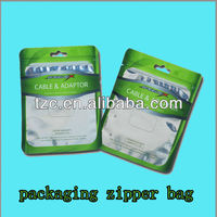 multi-color printing plastic flexible BOPP PET aluminium foil packaging film roll packing Zipper bags