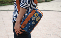 2014 LANGUO Cowboy and the queen style Model:LGNZ-1933 hot selling wholesale men messenger bag