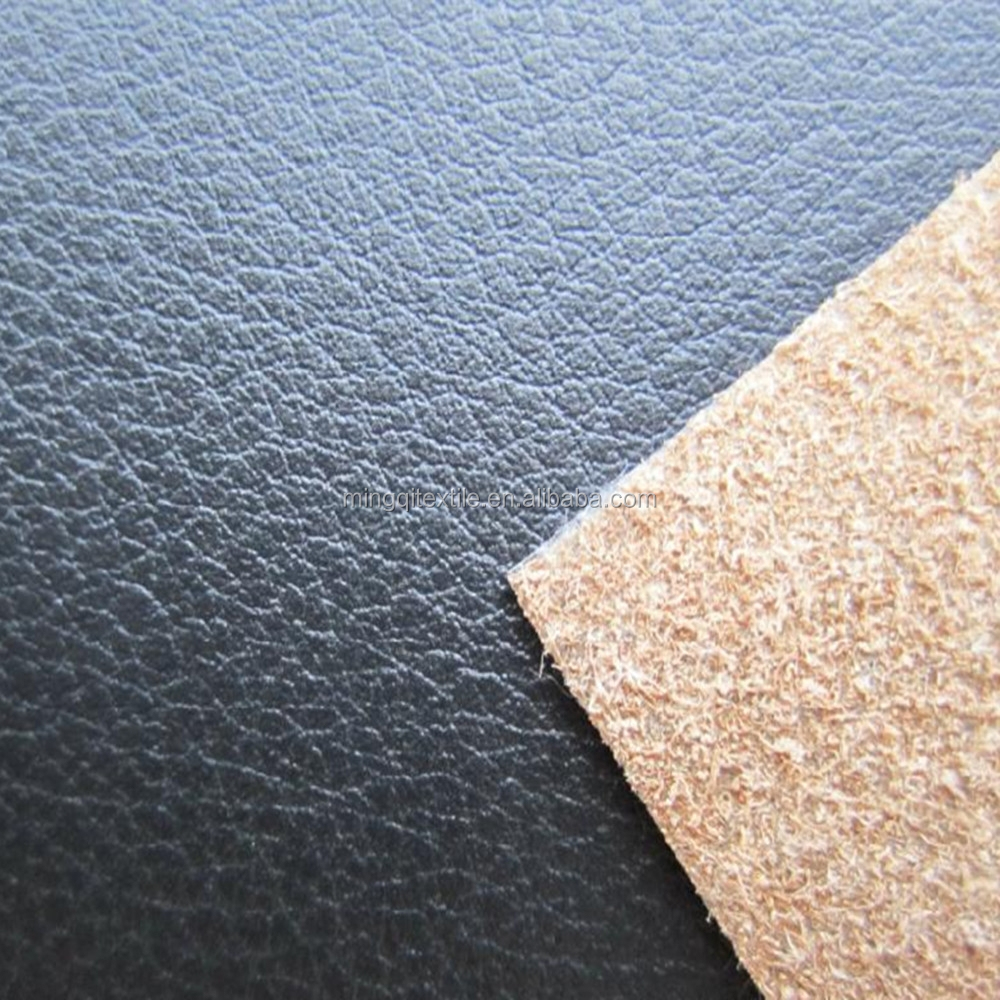Hot sale durable faux leather upholstery fabric factory for Upholstery fabric for sale