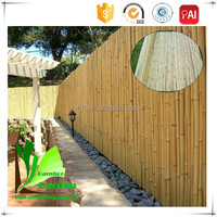 Easily Assembled Bamboo Cover Fence Panels