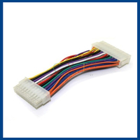 Male to Female PC Power Extension ATX Cable 24 Pin To 20 P