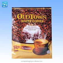 High Quality aluminum foil coffee packaging bags with valve/Heat Seal coffee bag with coffee design/coffee bag wholesale