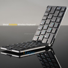Folding wireless bluetooth keyboard for pc laptop