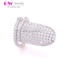 Stylish Finger Rings Factory Direct Sale 925 Sterling Silver Jewelry Wholesale FR034