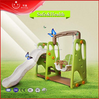 Indoor good price multifunctional swing slides for kids