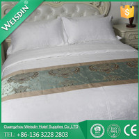WEISDIN HOTEL SUPPLIES white hot sale polyester/cotton bedding set