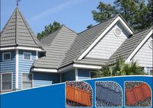 Easy install stone coated metal roof tile photovoltaic roof tiles prices