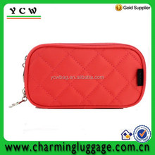 Direct factory manufacturer cosmetic bag with mirror