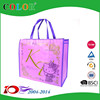 wecome in Japan pp non woven zipper bag, shopping bag with zipper