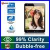 Ultra Thin Guard Anti-bubble screen replacement 9h tempered glass screen for ipad mini