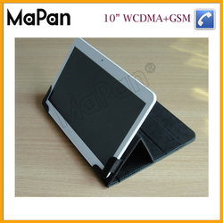 """3G phablet TFT LCD touch screen mobile phone MTK6572 dual core 10"""" dual sim calling tablet"""