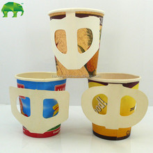 disposable paper cup China made 7oz paper Cup with handle