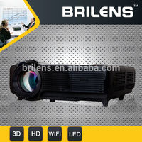 Brilens CL1280 Ivy 1280x768 720P 2500 ANSI lumens projector,Free Shipping Mini LED Projector,Home Business digital projector