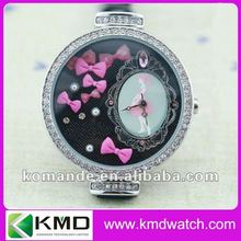 2012 novetly fashion wrist watches with animal and flowers on dial