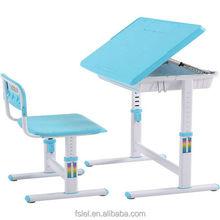 ergonomic healthy Kids table and chair plastic desktop