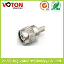 TNC male and crimp connector pins waterproof connector