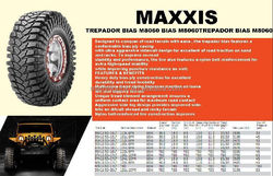 MAXXIS Brand MT Tyre