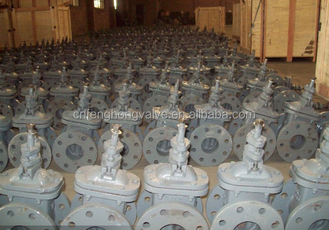 flanged non-rising stem gate valve