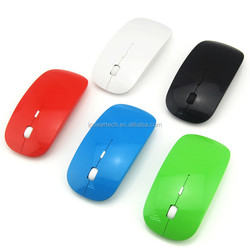 slim 2.4G receiver Customized computer Cheap mouse wireless