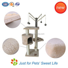 Luxury deluxe high quality cat scratcher lounge/cat scratching pads/cat toy scratcher