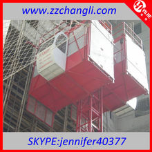 AAA Level!!!SC series Concrete Hoisting Machine,Hydraulic Elevator Platform,Elevations Of Commercial Buildings