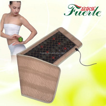 infrared light heating jade stones massage mat