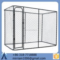 new design and fashionable safe customizable comfortable chain link dog kennels / dog cages