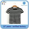 women yarn dyed t shirt 85% polyester15% cotton women t shirt factory wholesale shirts
