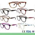 mayor venta monturas de gafas de ojo de gato de belleza