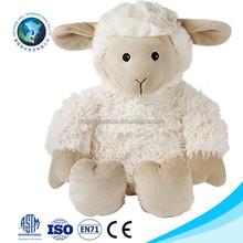 2015 Fashion cheap white sheep plush toy custom cute stuffed soft plush lamb