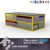 Timely delivery modern design small table/end table/side table with tempered glass