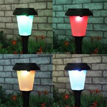 outdoor led solar garden light