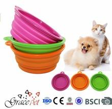 [Grace Pet] Convenient Dog Food Container Travel Bowl For Pet