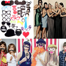 Stiff Felt Mustache Photo Booth Props hen party supplies , hen party accessories , hen party wholesale