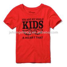 fashion kids custom design print t-shirt