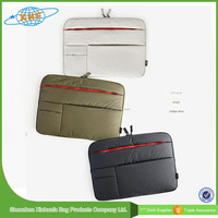 2015 Hot Sale 7-17 Inch Neoprene Laptop Sleeve Without Zipper