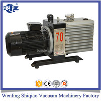 oil lubricated Direct Drive Two Stage Rotary Vane Vacuum Pump Germany