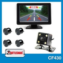 new 7 inch video parking sensor with camera super thin rearview mirror Mid-East, Africa, Europe special