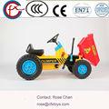 alta qualidade crianças brinquedos de plástico tractor de rodas de carro 312