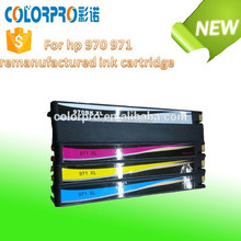 Made in china alibba re-manufactured ink cartridge for hp 970 971 compatible for hp officejet Pro X451dn/X451dw