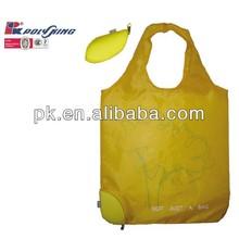 Yellow color animal design foldable bag shop online sale 2013(AD147)