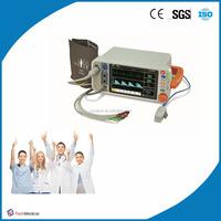 new technology monitor vital signs SpO2/ECG/TEMP/NIBP/RESP/ETCO2