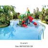 2015 Top Sale Deluxe Kids Water Slide Water Park Equipment With Low Price
