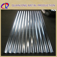 SGCC DX51D Corrugated Steel Types Of Roof Tiles