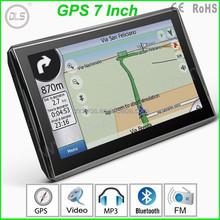 "7"" SAT NAV CAR GPS SATNAV NAVIGATION TOM FREE UPDATES & WORLD MAP"