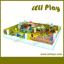 LL-I64 Inclusive Funny Interesting Kids Playground Plastic Fort