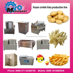 price for frozen french fries production line