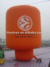 Inflatable ground balloon for activities