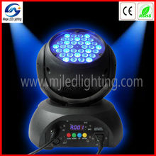 rgb color mixing / dimming indoor led moving head stage light