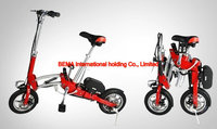 Brushless motor 2015 Aluminum light weight mini folding electric bike with CE Certificate